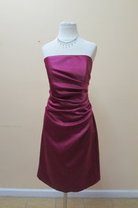 After Six Merlot 6618 Dress
