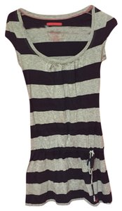 American Eagle Outfitters short dress Grey and Blue on Tradesy