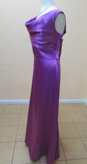 After Six Orchid Matte Satin 6627 Formal Bridesmaid/Mob Dress Size 14 (L)