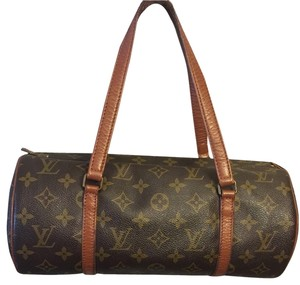 Louis Vuitton Papillon 30 Satchel in Brown Monogram
