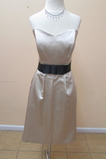 After Six Palomino Matte Satin 6629 Formal Bridesmaid/Mob Dress Size 10 (M)