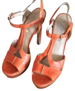 Michael Kors Light Orange Sandals