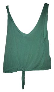 Urban Outfitters Uo Crop Top mint green