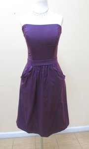 After Six Aubergine 6636 Dress