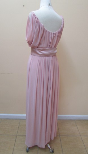 After Six Rose Chiffon 6638 Formal Bridesmaid/Mob Dress Size 8 (M)
