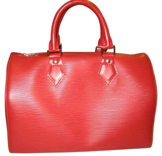 Preload https://item1.tradesy.com/images/louis-vuitton-speedy-red-epie-leather-tote-30705-0-0.jpg?width=440&height=440