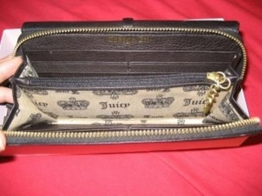 Juicy Couture Black Leather Juicy Couture Wallet