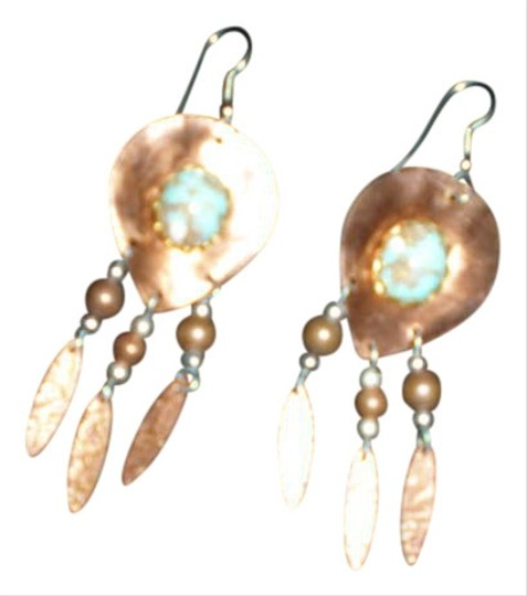 Other WESTERN STYLE COPPER WITH FAUX TURQUOISE STONE