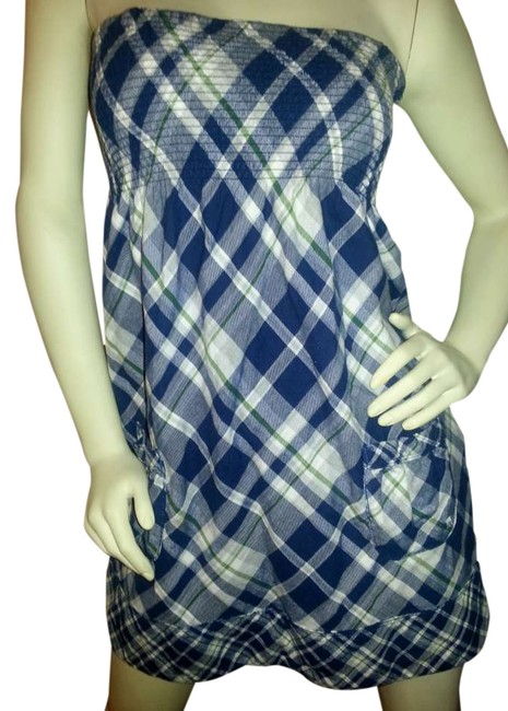 Preload https://img-static.tradesy.com/item/307131/abercrombie-and-fitch-blue-white-plaid-with-a-touch-of-green-strapless-sundress-mini-short-casual-dr-0-0-650-650.jpg