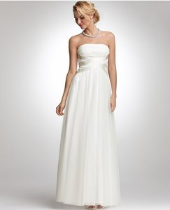 Ann Taylor Ann Taylor Ivory Tulle Causal Wedding Dress Wedding Dress