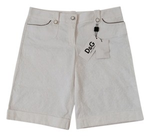Dolce&Gabbana Shorts Optical White