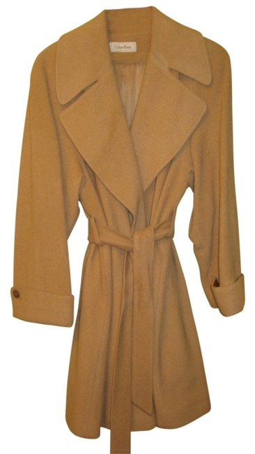 Preload https://item1.tradesy.com/images/calvin-klein-beige-cashmere-pea-coat-size-12-l-30720-0-0.jpg?width=400&height=650