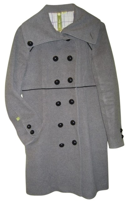 Preload https://item5.tradesy.com/images/soia-and-kyo-grey-high-colar-pea-coat-size-10-m-30724-0-0.jpg?width=400&height=650