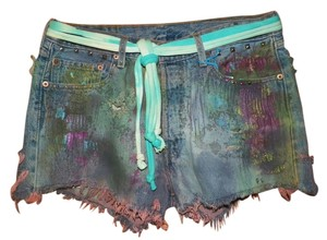 Vintage Hippie Punk Cut Off Shorts various