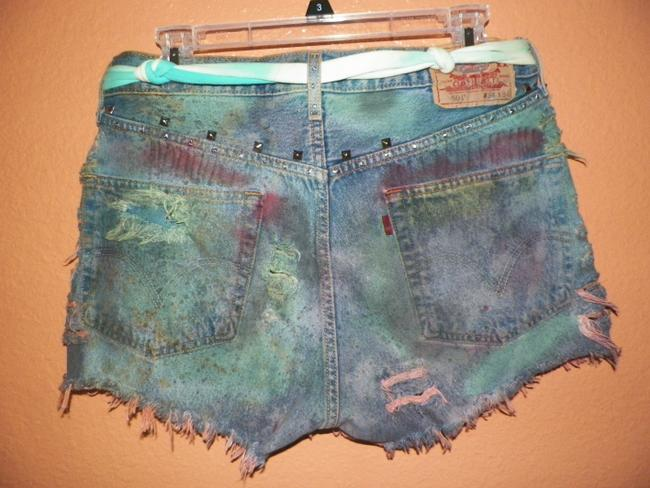 Other Vintage Hippie Punk Trailer Trash Eco Friendly Green Upcycled Affordable Fashion Felon S Daisy Dukes Denim Denim S Hot Cut Off Shorts various