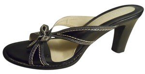 Franco Sarto Leather black Sandals