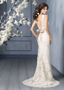 Lace Cap Sleeve Wedding Dress