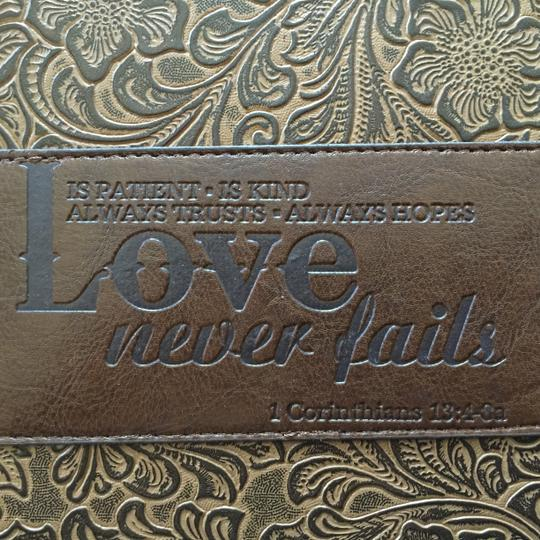 Soft Touch Classics Western-Style Journal; Love Never Fails (1 Cor. 13:4-8) by Soft Touch Classics [ MissSundayBest ]