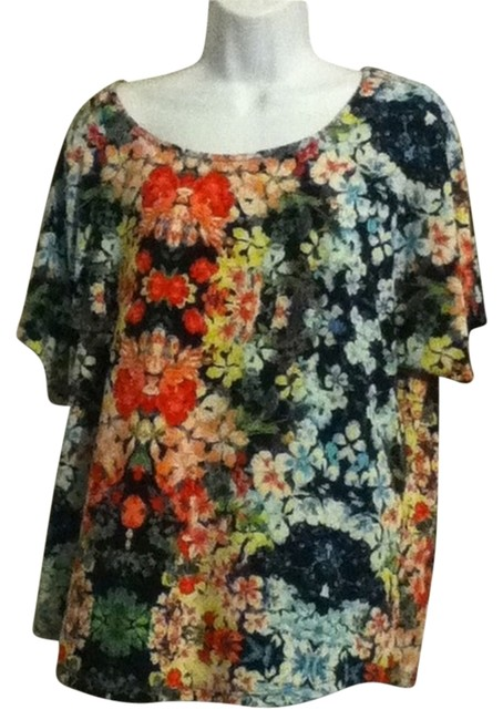 Preload https://item4.tradesy.com/images/other-1x-floral-polyester-no-iron-top-multi-color-3073108-0-0.jpg?width=400&height=650
