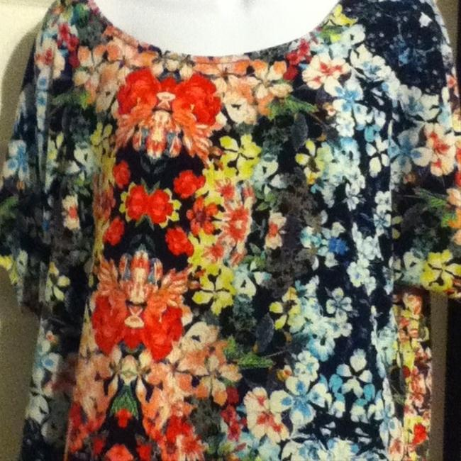 Other 1x Floral Polyester No Top Multi-color