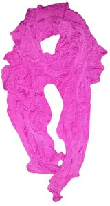 Other Stretchy, Boa-style scarf, fuchsia