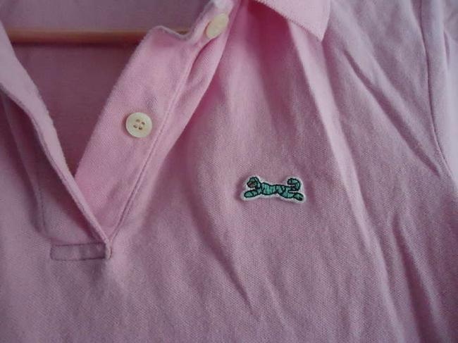 Urban Outfitters Le Tigre Polo Uo T Shirt Pink