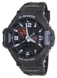 G-Shock G Shock Male Sports Watch GA1000-1ACR Black Analog/Digital