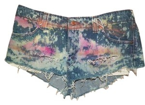 Vintage Hippie Punk Cut Off Shorts various, denim