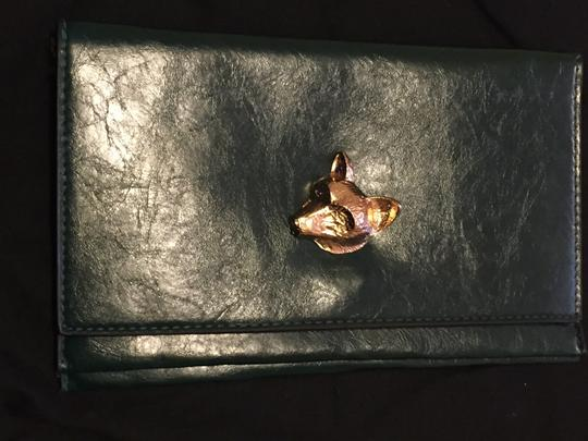 Other Dark green/gold Clutch