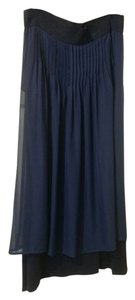 Anthropologie Maxi Skirt Blue