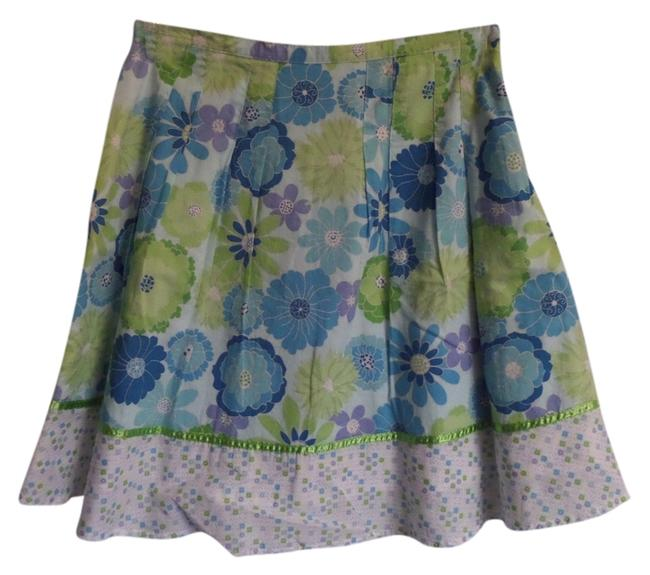 Preload https://item4.tradesy.com/images/izod-skirt-blue-green-and-white-floral-print-3074128-0-0.jpg?width=400&height=650