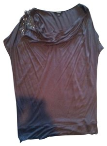Express Top taupe/purple