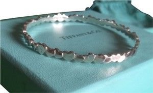 Tiffany & Co. Tiffany & Co. Rare Modern heart Cluster Bangle