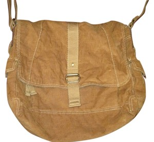 Fossil Corduroy Laptop Shoulder Bag
