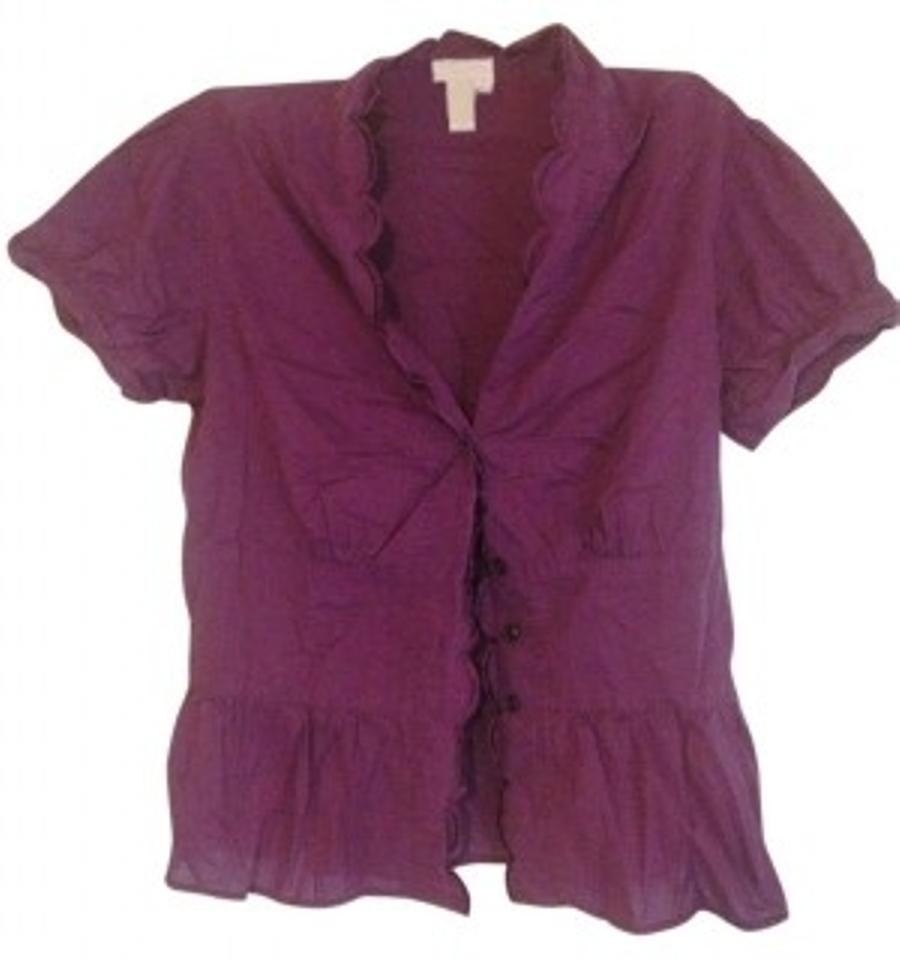 b8d8ea1c8841a Purple Isaac Mizrahi for Target Tops - Up to 70% off a Tradesy
