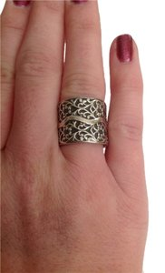 Silpada Thick sterling silver ring, everyday wear.