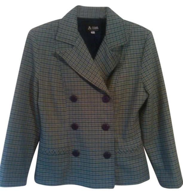 Preload https://item2.tradesy.com/images/a-list-green-plaid-sale-1980s-vintage-doublebreasted-jacket-blazer-size-8-m-307561-0-0.jpg?width=400&height=650
