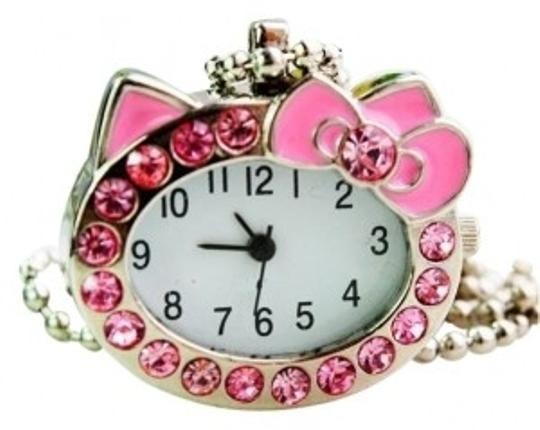 Preload https://img-static.tradesy.com/item/30761/all-around-fem-pink-hello-kitty-watch-necklace-fast-shipping-ring-0-0-540-540.jpg