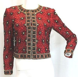 Papell Boutique RED Papell Boutique Dress