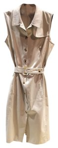 Burberry short dress Tan on Tradesy