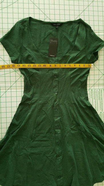 New Look short dress Dark Green on Tradesy