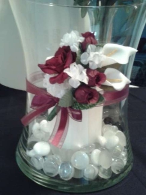 Item - Red/White 15 - Small Flower Bouquets