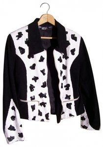 cow pattern Blazer