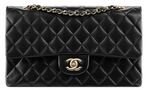 Chanel Classic Flap 2.55 Medium Double Shoulder Bag