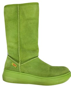 Rocket Dog Green Suede Boots