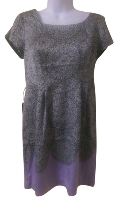 The Limited short dress Black /Purple on Tradesy
