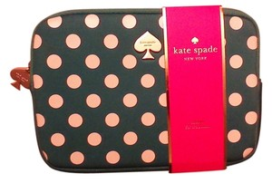 Kate Spade Kate Spade ipad case Green with With White Polka Dots