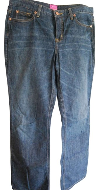 The Limited Boot Cut Jeans-Dark Rinse