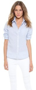 Equipment Iro Dvf Classic Rag & Bone Button Down Shirt Blue