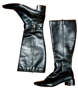 Karen Scott Leather black Boots